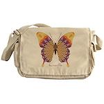 Quills Butterfly Messenger Bag