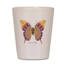 Quills Butterfly Shot Glass