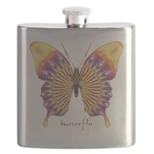 Quills Butterfly Flask