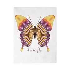 Quills Butterfly Twin Duvet