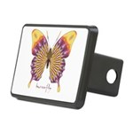 Quills Butterfly Rectangular Hitch Cover
