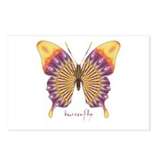 Quills Butterfly Postcards (Package of 8)