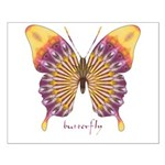 Quills Butterfly Small Poster