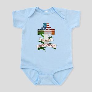 Irish American Celtic Cross Infant Bodysuit