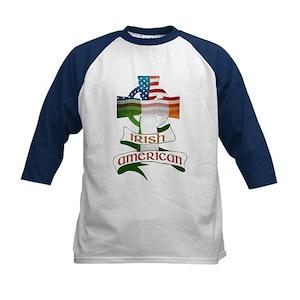 a883fc0a0 Irish Heritage Kids Baseball T-Shirts - CafePress