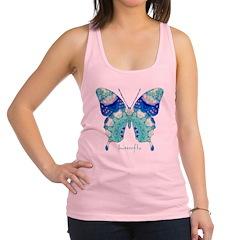 Bliss Butterfly Racerback Tank Top