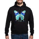 Bliss Butterfly Hoodie (dark)
