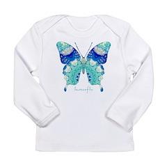Bliss Butterfly Long Sleeve Infant T-Shirt