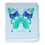 Bliss Butterfly baby blanket