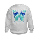 Bliss Butterfly Kids Sweatshirt