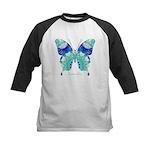 Bliss Butterfly Kids Baseball Jersey