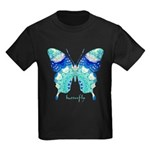 Bliss Butterfly Kids Dark T-Shirt