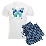Bliss Butterfly Men's Light Pajamas