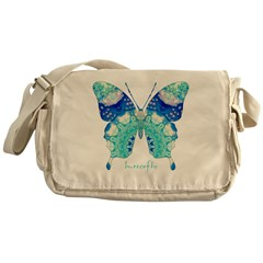 Bliss Butterfly Messenger Bag