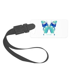 Bliss Butterfly Luggage Tag