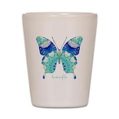 Bliss Butterfly Shot Glass