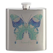Bliss Butterfly Flask