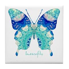 Bliss Butterfly Tile Coaster