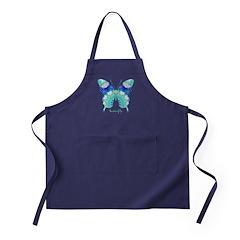 Bliss Butterfly Apron (dark)