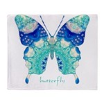Bliss Butterfly Throw Blanket