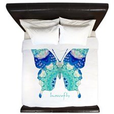 Bliss Butterfly King Duvet