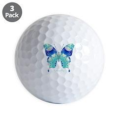 Bliss Butterfly Golf Ball