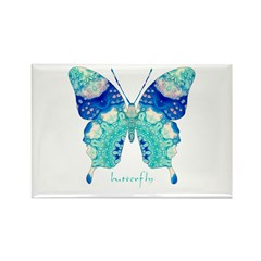 Bliss Butterfly Rectangle Magnet (100 pack)