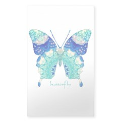 Bliss Butterfly Sticker (Rectangle)