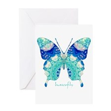 Bliss Butterfly Greeting Card