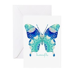 Bliss Butterfly Greeting Cards (Pk of 20)