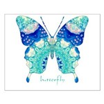 Bliss Butterfly Small Poster