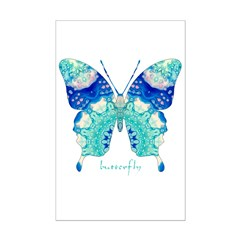 Bliss Butterfly Posters