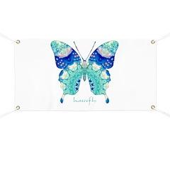 Bliss Butterfly Banner