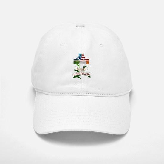 Irish American Celtic Cross Baseball Baseball Cap