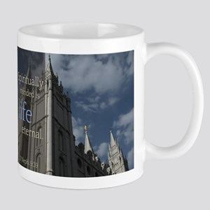 LDS Quotes- Spiritually Minded is Life Eternal Mug