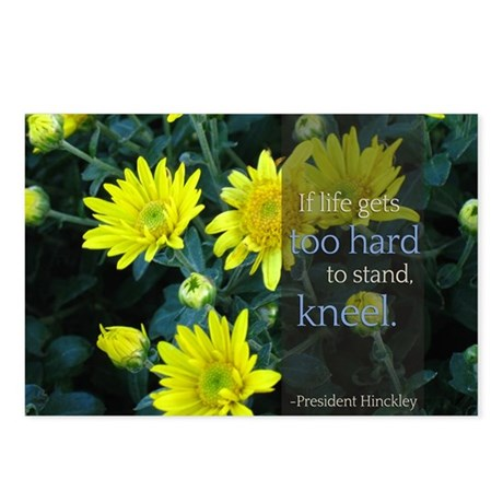 Lds Quotes If Life Gets Too Hard To Stand Post By Ldsquotes