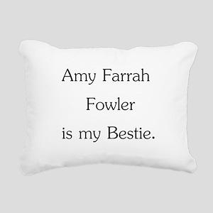 Amy Farrah Fowler is my Bestie. Rectangular Canvas
