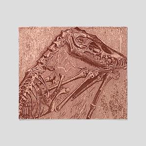 fossildino Throw Blanket