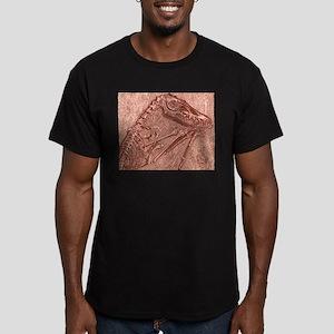 fossildino Men's Fitted T-Shirt (dark)