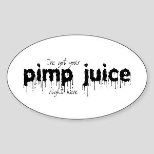 Pimp Juice - Oval Sticker