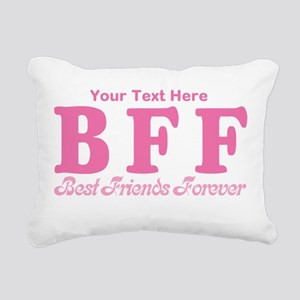 CUSTOM TEXT Best Friends Forever Rectangular Canva