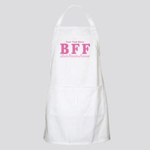 CUSTOM TEXT Best Friends Forever Apron