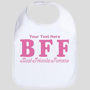 CUSTOM TEXT Best Friends Forever Bib