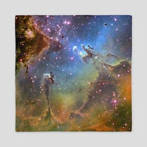 Eagle Nebula (High Res) Queen Duvet