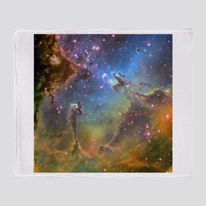 Eagle Nebula (High Res) Throw Blanket