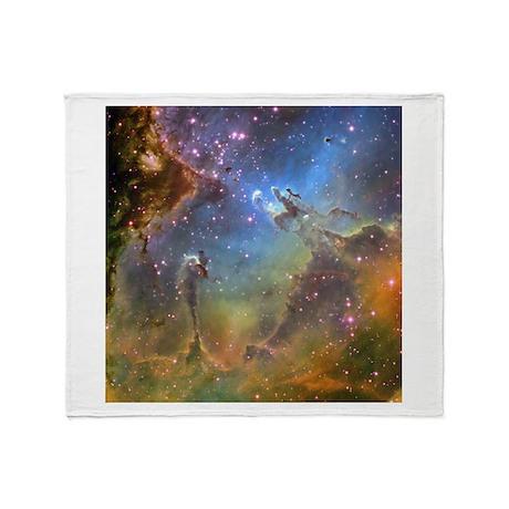 Eagle Nebula (High Res) Throw Blanket
