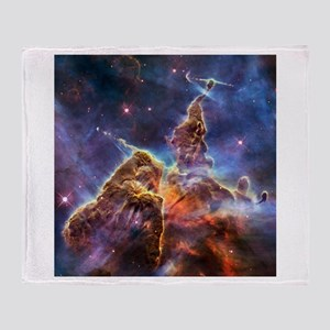 Carina Nebula (High Res) Throw Blanket