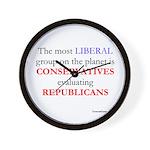 ConRepShirt Wall Clock