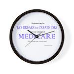 MedicareSh Wall Clock