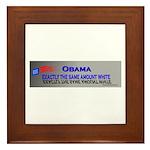 ObamaSt2 Framed Tile